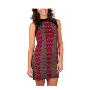 Tracy Negoshian | Joan Zig Zag Dress Size Small